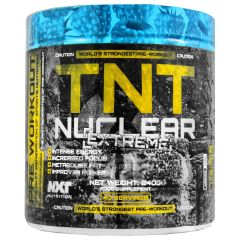 NXT Nutrition TNT Nuclear Extreme Pre Workout Energy Training Powder  - 240g