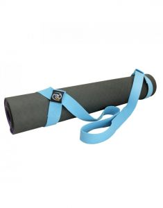 Fitness Mad Deluxe Yoga Pilates Mat Block Carry Belt And Strap
