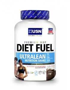 USN Diet Fuel Ultralean Whey Protein Meal Replacement Weight Loss Shake - 2kg