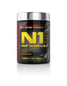 Nutrend N1 Pre Workout Strength Endurance Booster Sports Energy Powder - 510g