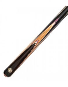 PowerGlide Professional Fusion Zebrawood 50/50 2 Piece Snooker Cue And Sleeve