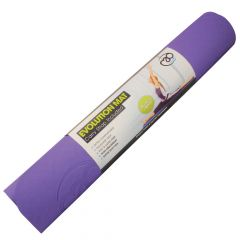 Fitness Mad Yoga Pilates Evolution SuperSoft Double Sided Mat 4mm - Purple Grey