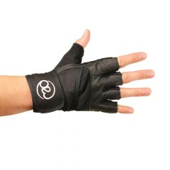 Fitness Mad Strength Highly Supportive Heavy Weight Lifting Gloves & Wrist Strap