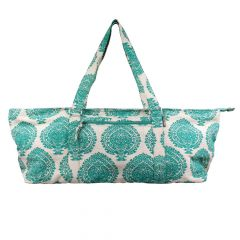 Fitness Mad Yoga Mad Deluxe Pilates Accessories Spacious Mat Prop Bag - Green