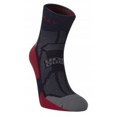Hilly Off Road Durable Merino Wool Comfort Cushion Running & Sports Anklet Socks