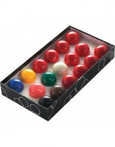 Power Glide Classic Standard 17 Snooker Ball Set 37.5mm - Boxed