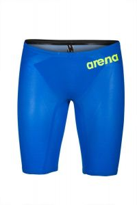 Arena Swimming Powerskin Carbon AIR2 Jammer Racing Swimsuit - Blue