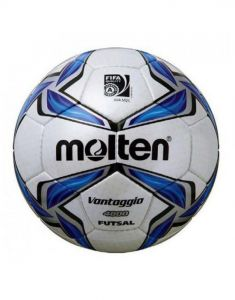 Molten F9V4800 Fifa Approved Low Bounce Hand Stitched Gloss Futsal Ball