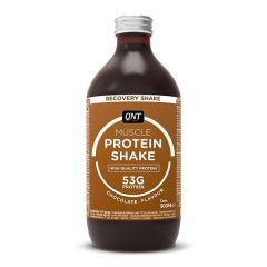 QNT Protein High Carbohydrate Post Training Recovery Shake (Choc) 12 X 500ml