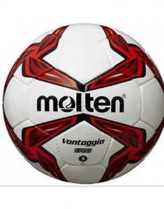 Molten F5V1700 Hand Stitched Match & Training PVC Leather Red Football