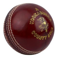 Kookaburra County Star Cricket Ball Hand Stitched with Quilted Centre