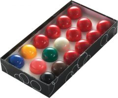 Power Glide Classic Standard 17 Snooker Ball Set 44.5mm - Boxed