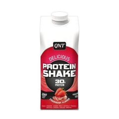 QNT Delicious Whey Shake 100% Pure Whey Protein (30g) (Strawberry) 12 X 330ml