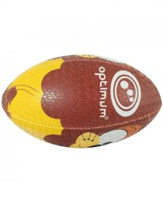 Optimum Sport Hand Stitched Rubber Lion Rugby Ball