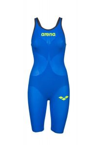 Arena Swimming Womens Powerskin Carbon Air2 Racing Swimsuit Wetsuit - Blue