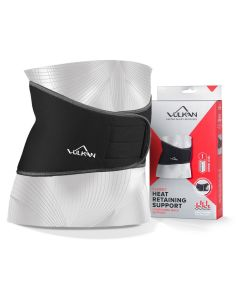 Vulkan Classic 3013 Back Brace Heat Therapy Lumbar Compression Support Wrap