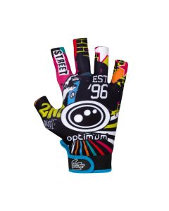 Optimum Sports Stik Mits Half Finger Elastic Wrist Strap Rugby Gloves - 2nd Street