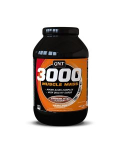 QNT Weight Gain 3000 Muscle Mass Protein Vitamins & Carbs (Chocolate) 4.5kg