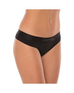 Comfy Womens String Wood Training Fitness Workout Underwear 2 Pack