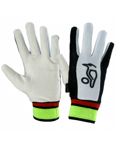 Kookaburra Cricket Plain Chamois Full Finger Wicket Keeping Inner Gloves