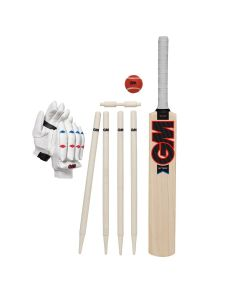 Gunn & Moore GM Cricket Mythos Youths Beginner Sports Soft Ball Training Set