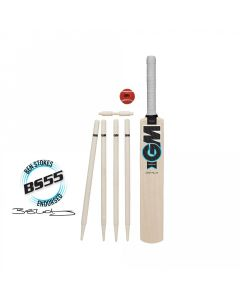Gunn & Moore GM Diamond Cricket Set Ben Stokes Range Bat Ball & Stumps