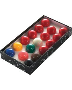 PowerGlide Classic Standard 17 Snooker Balls Set 44.5mm - Boxed