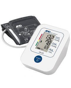 A&D UA611 Upper Arm Blood Pressure Monitor With Slim Fit Cuff For Comfort