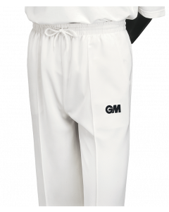 Gunn & Moore GM Cricket Premier Boys Trousers Youths Sports Clothing - Cream