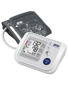 A&D UA767F Upper Arm Blood Pressure Monitor IBH Detection & 60 Reading Memory