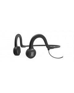 Aftershokz Sport Titanium W/Mic Wired Running Cycling Bone Conduction Headphones-Onyx