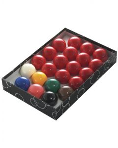 PowerGlide Classic Standard 22 Snooker Balls Set 51mm - Boxed