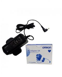 Omron AC Adaptor UK  For All BP Blood Pressure Monitors - 2 Years Warranty