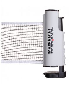Karakal Table Tennis Retractable Regulation Six Feet Net Set in Storage Pouch