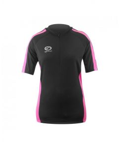 Optimum Sports Nitebrite High Visibility Womens Short Sleeve Cycling Jersey
