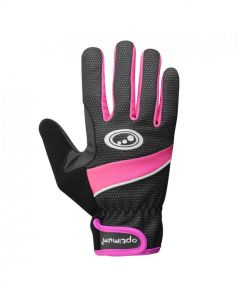 Optimum Sports Nitebrite Windproof Womens Thermal Winter Cycling Gloves