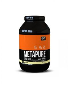 QNT Metapure Zero Carb Fat Free Whey Protein Isolate Powder (Vanilla) - 2kg