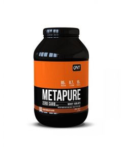 QNT Metapure Zero Carb Fat Free Whey Protein Isolate Powder (Chocolate) 908g