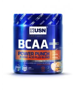 USN BCAA Power Punch Muscle Recovery And Performance Supplement Powder - 400g