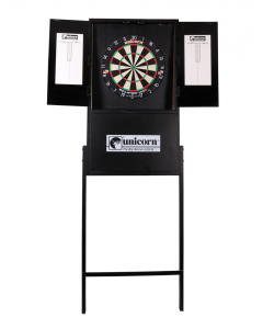 Unicorn Darts X-Tip Dartboard Stand Foldable Portable Compact Dart Stand