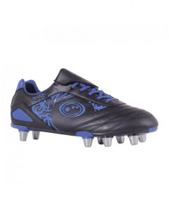 Optimum Sports Razor Light Synthetic Rugby And Football Stud Boots - Black/Blue