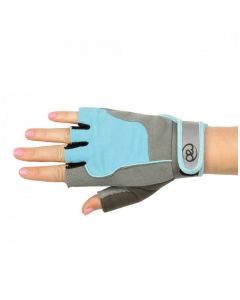 Fitness Mad Strength Womens Cross Training Weight Lifting Fitness Gloves - Blue