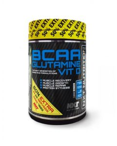 NXT Nutrition BCAA Glutamine Vit D Recovery Training Health Fitness Drink - 792g