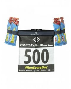 Ronhill Race Number Belt Lightweight Powerlite Gel Storage Marathon Running Belt