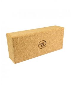 Fitness Mad Cork Brick Extra High Yoga And Pilates Training Equipment