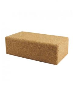 Fitness Mad Cork Brick Regular Size Yoga And Pilates Training Equipment