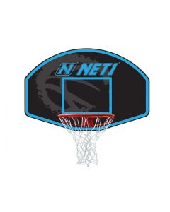 Net1 N123205 Vertical Backboard & Goal All Weather Wall Mounted Sports System