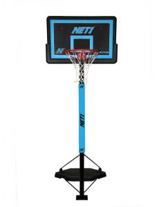 Net1 N123208 Competitor Portable Adjustable Basketball All Weather Sports System