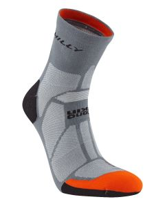 Hilly Urban Marathon Fresh Anklet Sports Running Socks – Granite/Orange