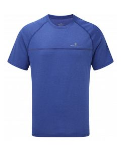 Ronhill Everyday Short Sleeve T Shirt High Wicking Running Apparel - Midlnight Blue